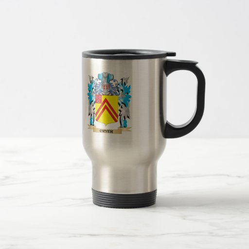 Cryer- Coat of Arms - Family Crest Mug