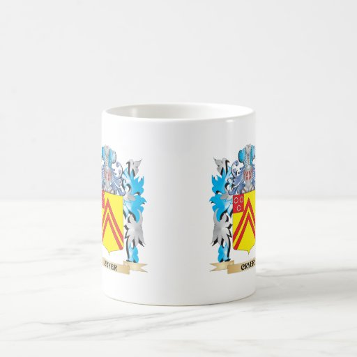 Cryer- Coat of Arms - Family Crest Coffee Mug