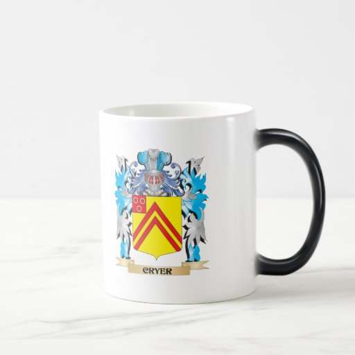 Cryer- Coat of Arms - Family Crest Mugs