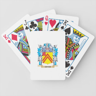 Cryer- Coat of Arms - Family Crest Deck Of Cards