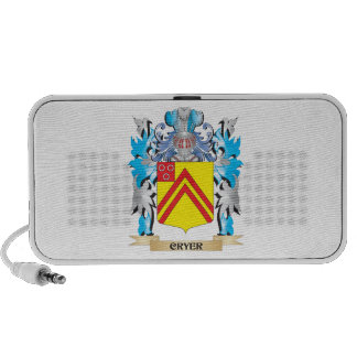 Cryer- Coat of Arms - Family Crest Mini Speakers