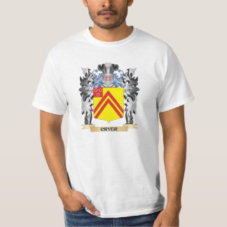 Cryer Coat of Arms - Family Crest T-shirt