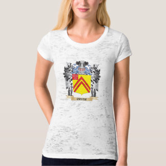 Cryer Coat of Arms - Family Crest T-shirts