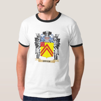 Cryer Coat of Arms - Family Crest Tee Shirt