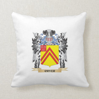 Cryer Coat of Arms - Family Crest Throw Cushions