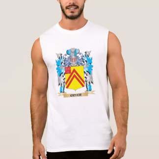 Cryer- Coat of Arms - Family Crest Sleeveless T-shirts