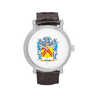 Cryer- Coat of Arms - Family Crest Wrist Watches