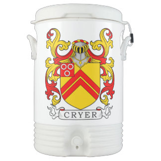 Cryer Coat of Arms Igloo Beverage Cooler
