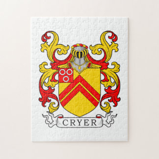 Cryer Coat of Arms Jigsaw Puzzles