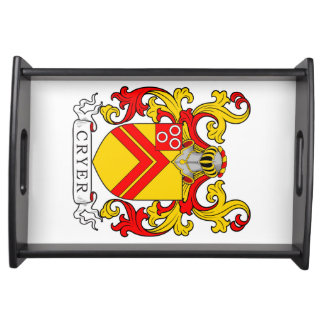 Cryer Coat of Arms Service Trays