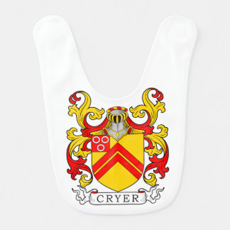 Cryer Coat of Arms Baby Bibs