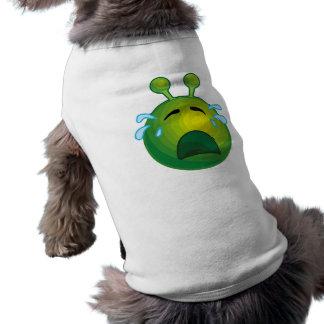 Crying alien pet tshirt