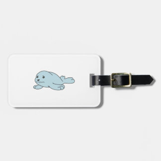 Crying Aqua Blue Sea Lion Seal Pup Mug Button Pin Bag Tags