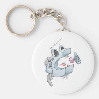 Crying C Keychain