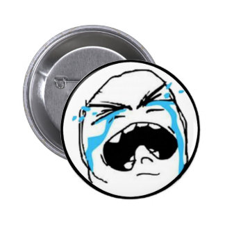 Crying Comic Meme 6 Cm Round Badge