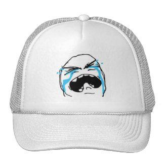 Crying Comic Meme Trucker Hats