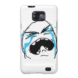 Crying Comic Meme Galaxy S2 Covers