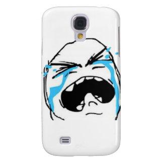 Crying Comic Meme Samsung Galaxy S4 Case