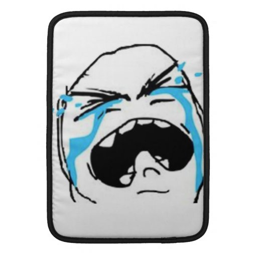 Crying Comic Meme Sleeve For MacBook Air