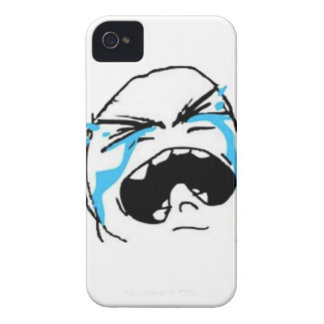 Crying Comic Meme iPhone 4 Case