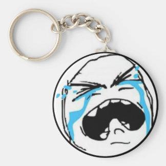 Crying Comic Meme Keychain