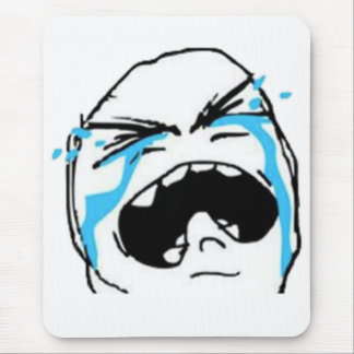Crying Comic Meme Mouse Pad
