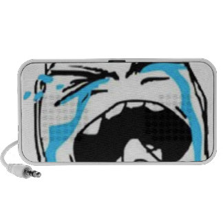 Crying Comic Meme Portable Speakers