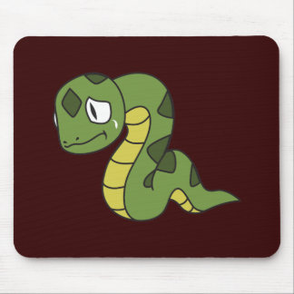 Crying Cute Green Snake Greeting Cards Mugs Pin Mousepad