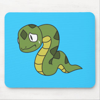 Crying Cute Green Snake Greeting Cards Mugs Pin Mousepads