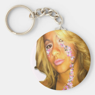 Crying Flowers Key Chain