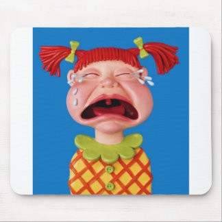 Crying Girl Mouse Pad