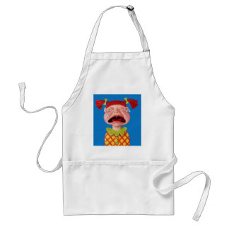 Crying Girl Standard Apron