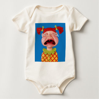Crying Girl Romper