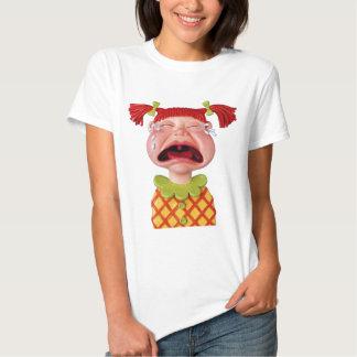 Crying GirlW Tee Shirt