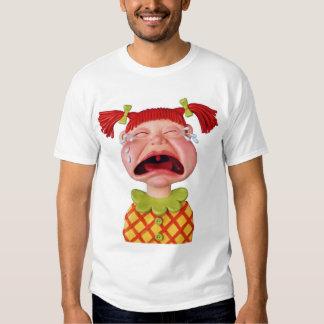 Crying GirlW Tee Shirts