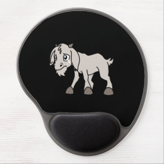 Crying Grey Young Goat Kid Animal Rights Day Gel Mouse Pad