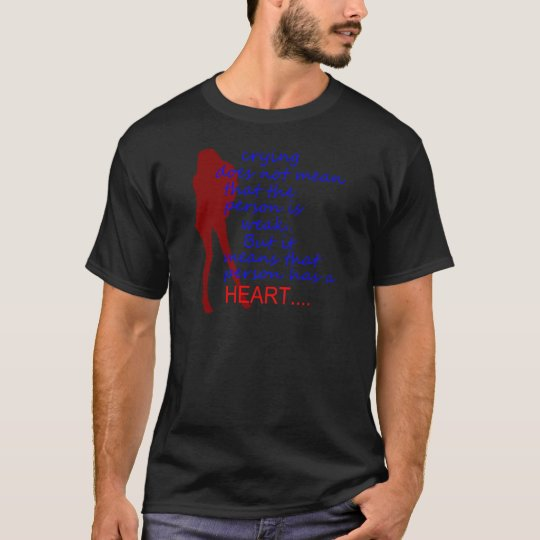 crying lady heRT T-Shirt
