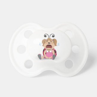 Crying ladybug boy dummy pacifiers