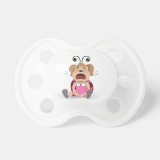 Crying ladybug girl dummy baby pacifiers