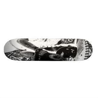 crying mexicana kisses skull skate board