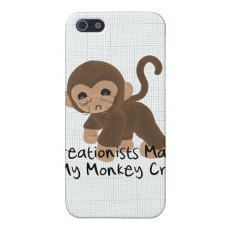 Crying Monkey iPhone 5 Covers