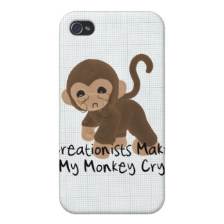 Crying Monkey Cover For iPhone 4