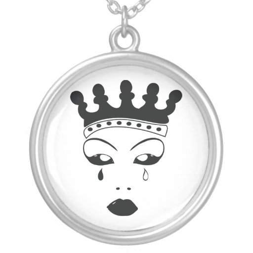Crying Queen Pendant
