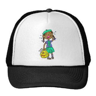 Crying School Girl Cap