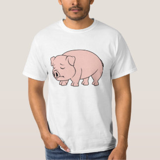 Crying Weeping Pink Piglet National Pig Day Shirts