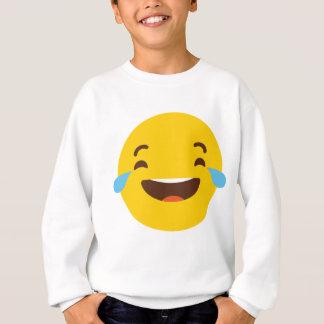 Crying with laugher emoji sweatshirt