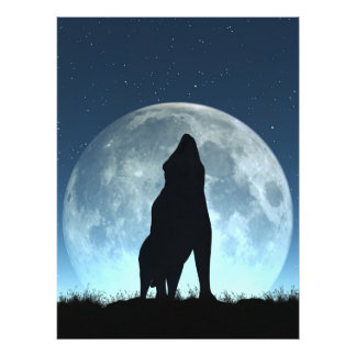 Crying Wolf Photo Print