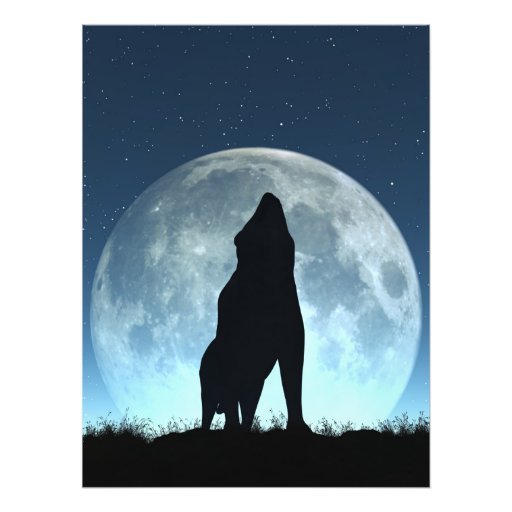 Crying Wolf Photo Print