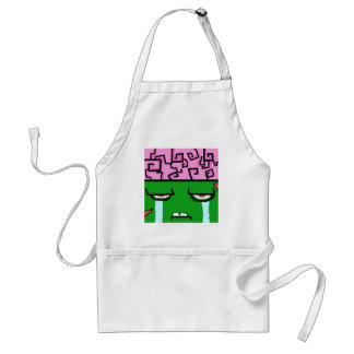 crying zombie jpg aprons