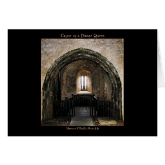 Crypt of a Pirate Queen Greeting C... Greeting Card